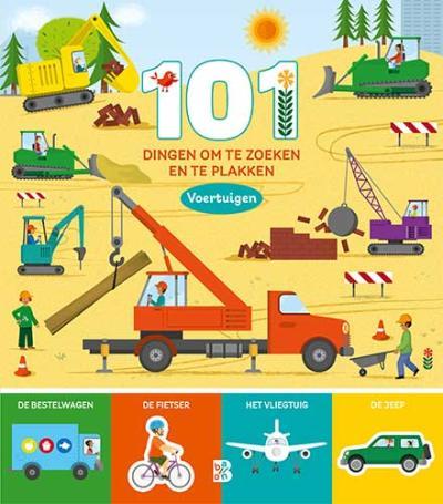 101 dingen om te zoeken en te plakken: voertuigen