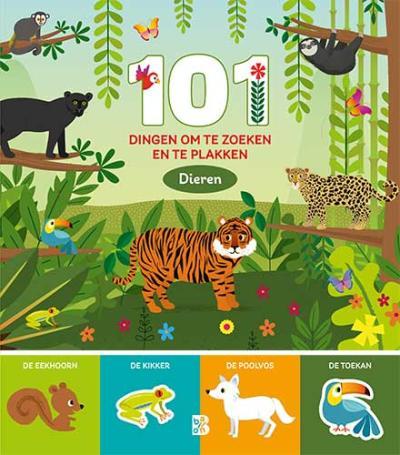 101 dingen om te zoeken en te plakken: dieren