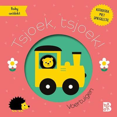 Baby ontdekt: Kijkboekje met spiegeltje: Tsjoek, tsjoek! (voertuigen)