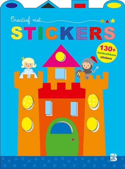 Creatief met stickers (kasteel)