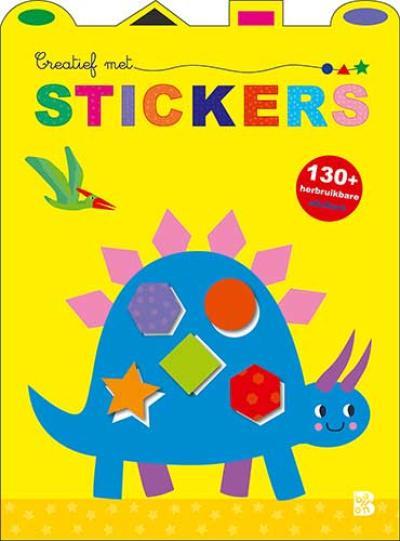 Creatief met stickers (dinosaurus)