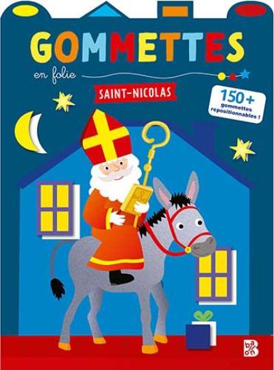 Gommettes en folie Saint-Nicolas