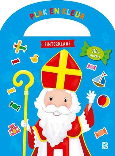 Plakken en kleuren Sinterklaas