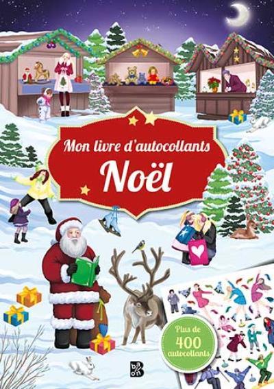 Mon livre d'autocollants – Noël