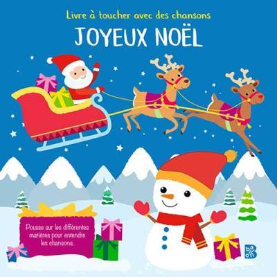 Livre sonore à toucher Noël