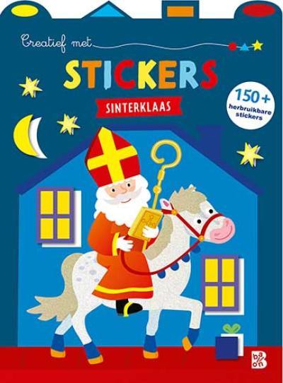 Creatief met stickers Sinterklaas