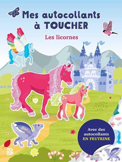 Mes autocollants à toucher – Les licornes