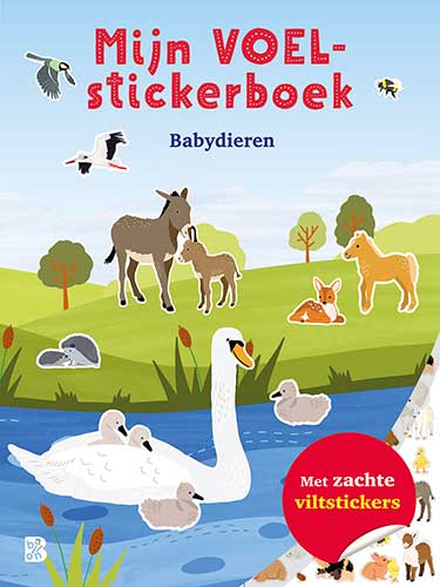 Mijn voelstickerboek Babydieren