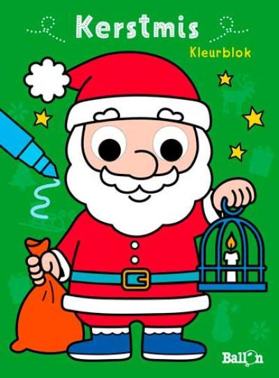 Kerstmis – Kleurblok (met bewegende oogjes)