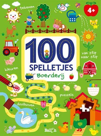 100 spelletjes – Boerderij 4+