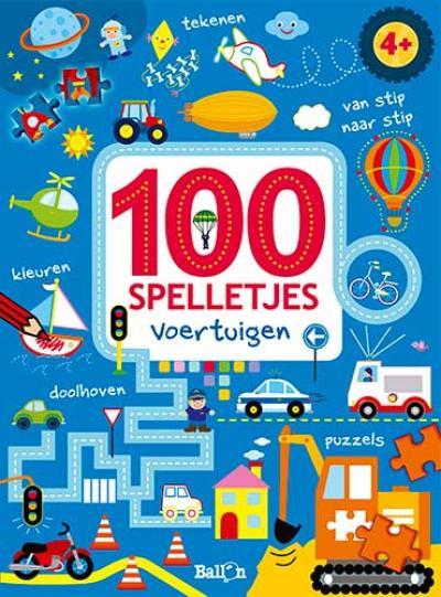 100 spelletjes – voertuigen 4+