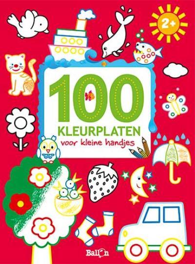 100 kleurplaten voor kleine handjes 2+