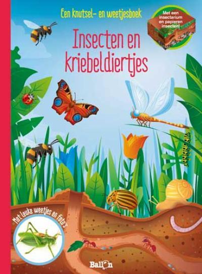 Insecten en kriebeldiertjes – een knutsel- en weetjesboek
