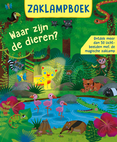 Zaklampboek – Waar zijn de dieren?
